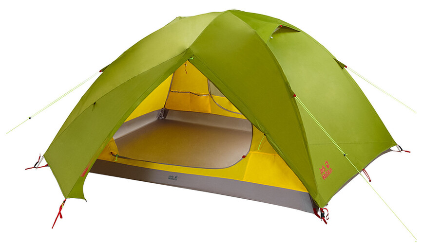 Jack Wolfskin Skyrocket III tent groen